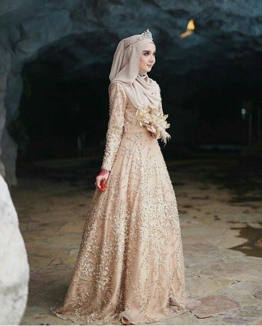 Design Gaun Pengantin Brokat Muslimah 3id6 Inspirasi Baju Pengantin Muslimah Yang Bisa Kamu Tiru Untuk