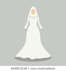 Design Gaun Pengantin Modern Muslimah Irdz Ilustraciones Imágenes Y Vectores De Stock sobre Muslim