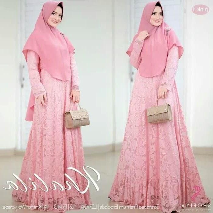 Design Gaun Pengantin Muslim Cantik 0gdr Jual Baju Gamis Wanita Muslim Khalila Cantik Maxi Longdres ori Shofiya Kota Yogyakarta Dapis Shop