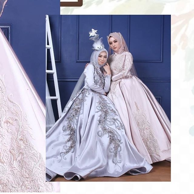 Design Gaun Pengantin Muslim Cantik Kvdd Sewagaunakad Instagram Posts Photos and Videos Instazu