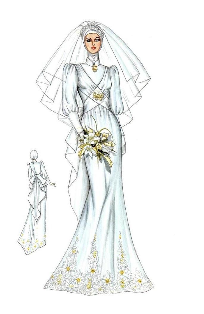 Design Gaun Pengantin Muslim Cantik Q0d4 List Of Pinterest Siluet Wedding Ideas & Siluet Wedding Photos