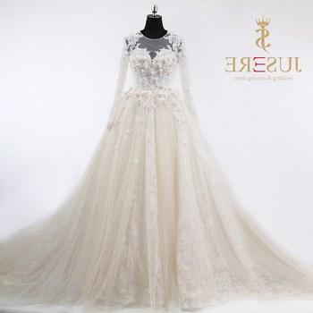 Design Gaun Pengantin Muslimah 2018 E6d5 Lace Long Sleeves Muslim Wedding Dress 2018 Buy Muslim Bridal Wedding Dress 2018 Long Sleeves Muslim Bridal Gown Long Sleeve 3d Flowers Wedding