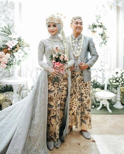Design Gaun Pengantin Muslimah Adat Jawa S5d8 Cantiknya 5 Baju Pengantin Adat Jawa Untuk Muslimah Ini