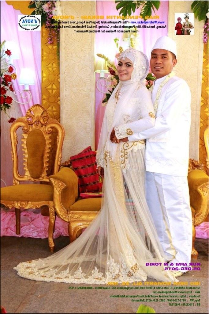 Design Gaun Pengantin Muslimah Adat Jawa Tqd3 Rias Pengantin Muslimah Bekasi by Rias Pengantin Bekasi
