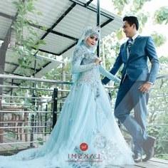 Design Gaun Pengantin Muslimah Biru 3id6 15 Best Gaun & Busana Pernikahan Di Surabaya Images