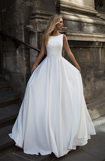 Design Gaun Pengantin Muslimah Biru Mndw Cheap Bridal Dress Affordable Wedding Gown