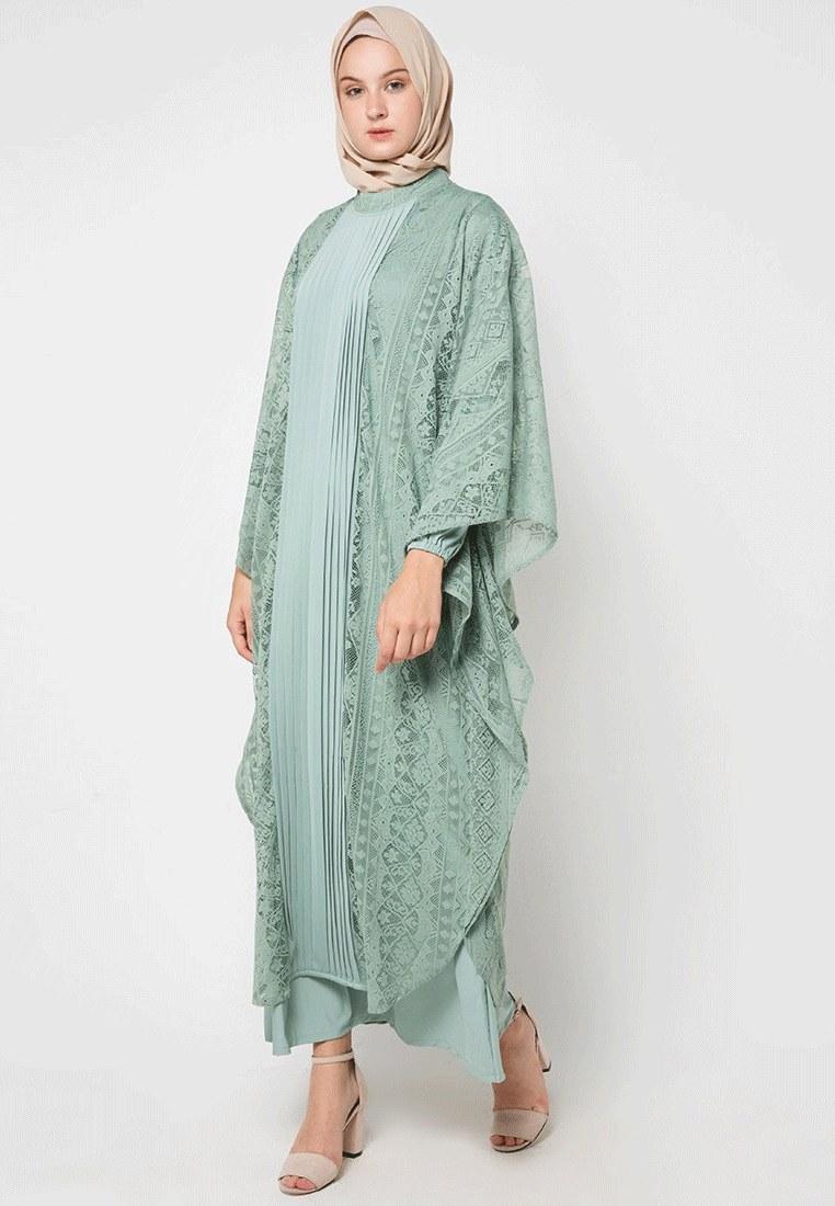 Design Gaun Pengantin Muslimah Gemuk Drdp 17 Model Baju Batik Muslim 2018 Untuk Remaja Muslimah