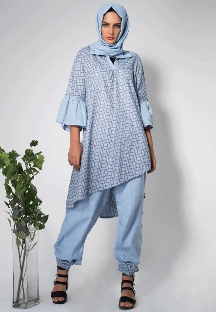Design Gaun Pengantin Muslimah Gemuk E9dx 17 Model Baju Batik Muslim 2018 Untuk Remaja Muslimah