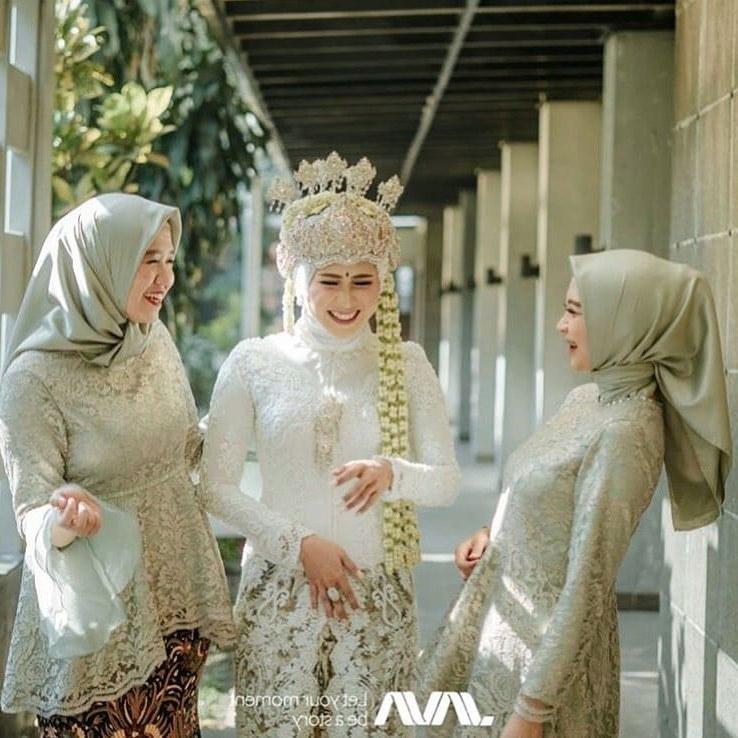 Design Gaun Pengantin Muslimah Gemuk Irdz Model Kebaya Akad Nikah Hijab Model Kebaya Terbaru 2019
