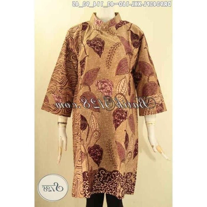 Design Gaun Pengantin Muslimah Gemuk Thdr Jual Dress Batik Wanita Gemuk Dual Motif Kerah Shanghai Size Xxl Dr9343pl Kota Surakarta Batik Kidung asmara