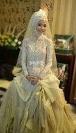 Design Gaun Pengantin Muslimah Gold 4pde 9 Best Gaun Pengantin Model Kebaya Images In 2016