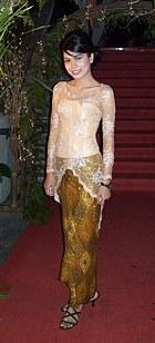 Design Gaun Pengantin Muslimah Gold Dwdk Kebaya