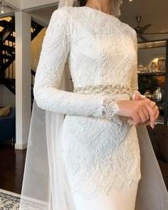 Design Gaun Pengantin Muslimah Gold H9d9 145 Best Baju Nikah Putih Images In 2019