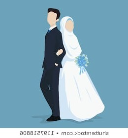 Design Gaun Pengantin Muslimah Gold Tqd3 Wedding Happy Bride Stock S People Shutterstock