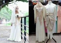 Design Gaun Pengantin Muslimah Murah S1du 16 Best Gaun Pengantin Muslimah Malaysia Images