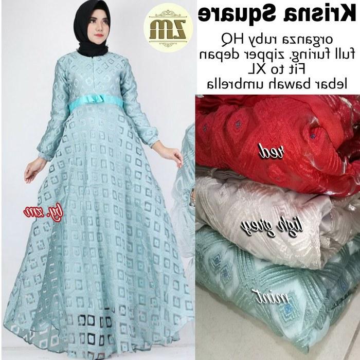 Design Gaun Pengantin Muslimah Murah Wddj Jual Fashion Wanita Krisna Square Dress Gamis Baju Muslim Murah Cantik Kota Surakarta Rainshopsolo