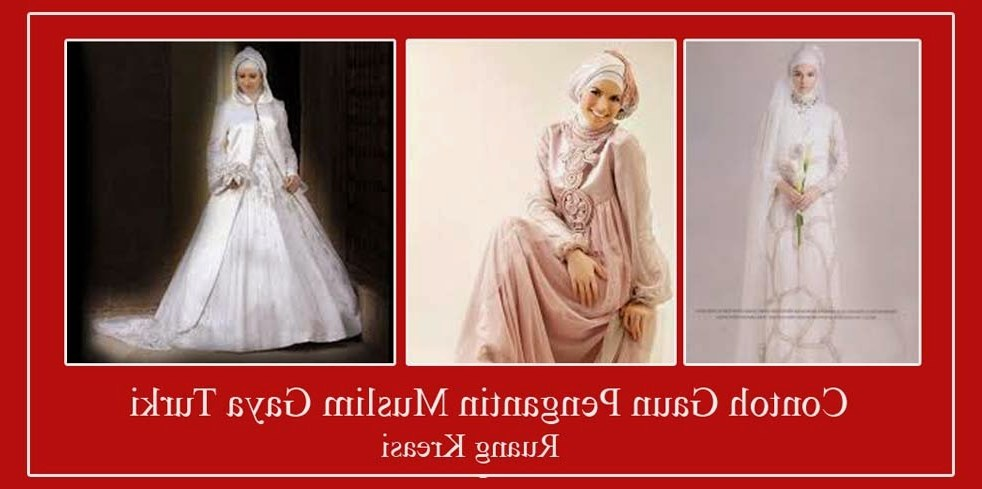 Design Gaun Pengantin Muslimah Syar'i Rabbani Drdp Gaun Pengantin Muslimah Yang Menjadi Tren Di Zaman