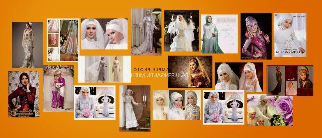Design Gaun Pengantin Muslimah Syar'i Rabbani Jxdu Baju Pengantin Muslimah Terbaik 2016