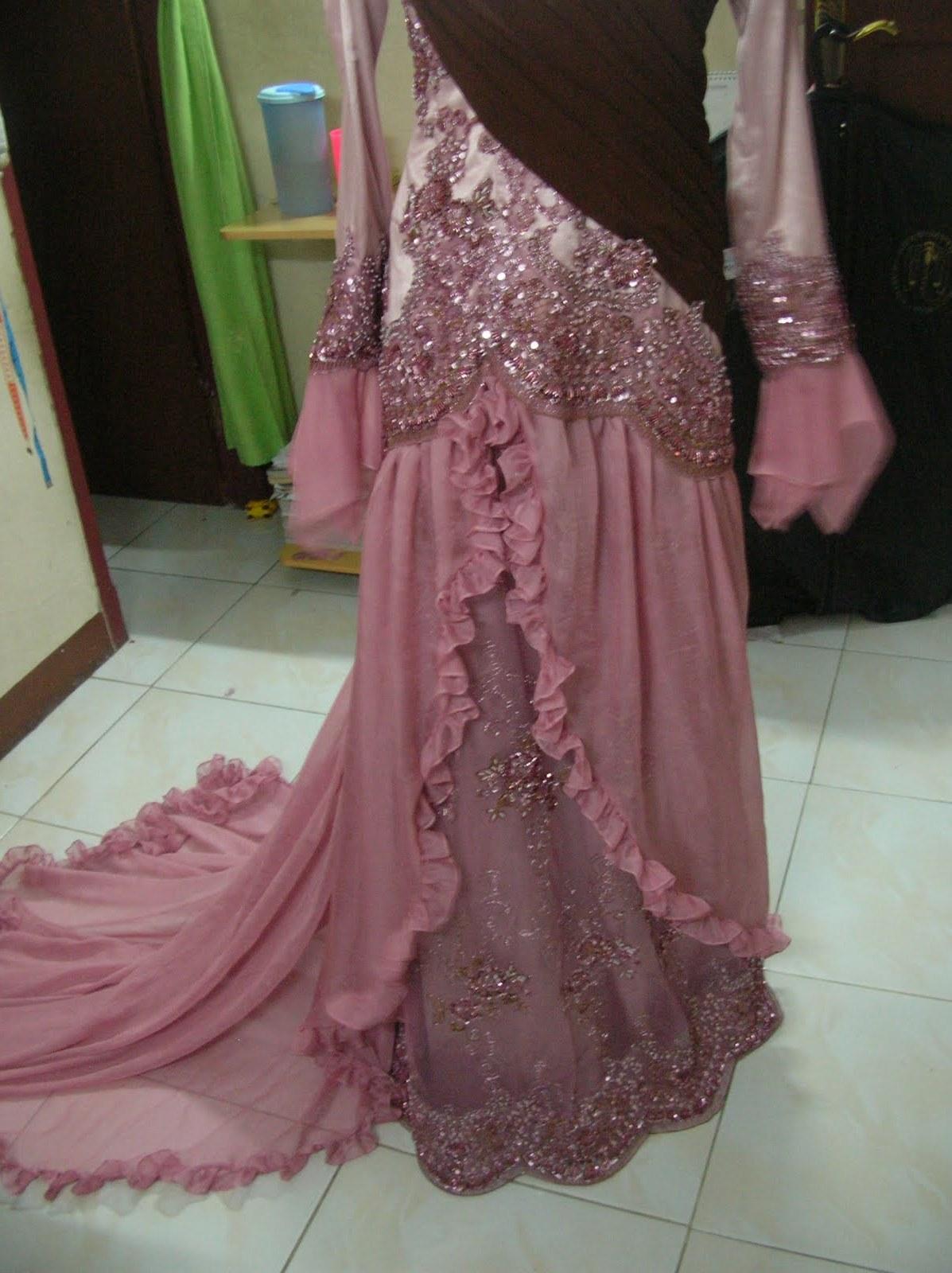 Design Gaun Pengantin Muslimah Syar'i Rabbani O2d5 Gaun Pengantin Muslimah 2012