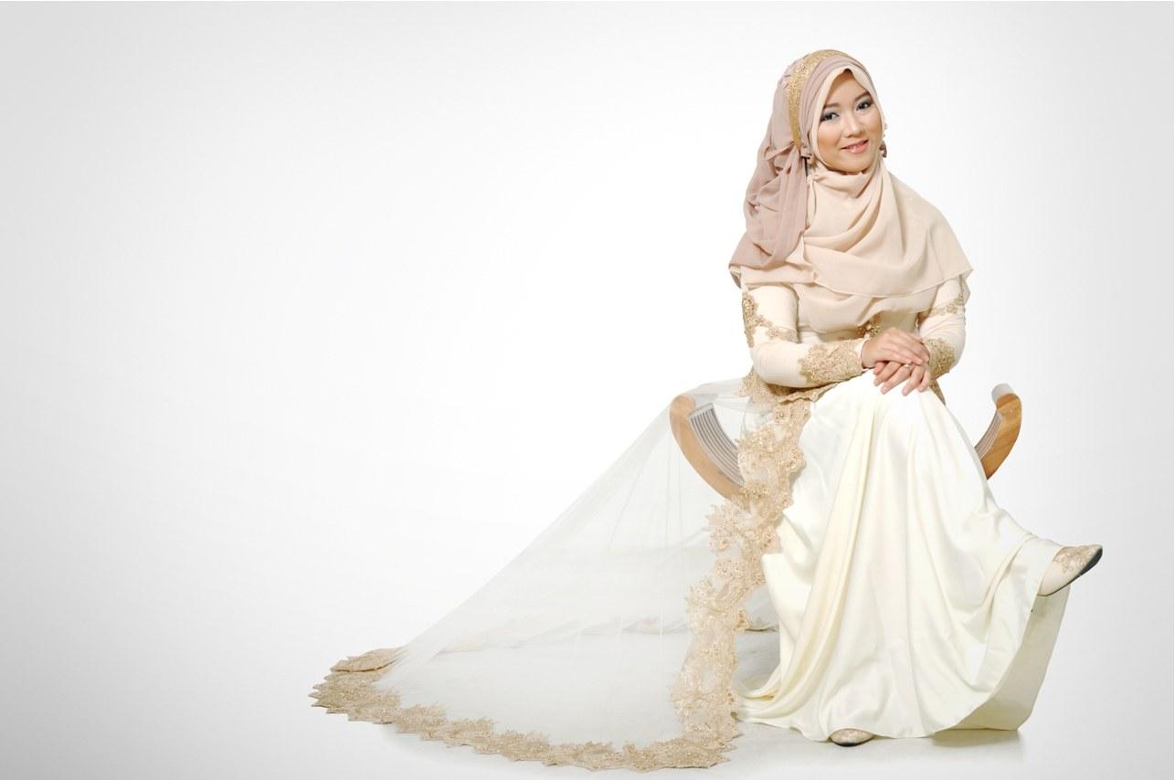 Design Gaun Pengantin Muslimah Syar'i Rabbani Zwdg Insprasi Baju Pengantin Muslimah Syar I Inspirasi