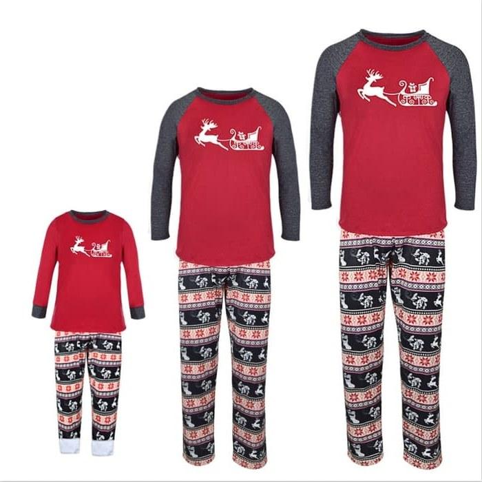 Design Gaun Pengantin Muslimah Terbaru 2019 Drdp Jual Family Christmas Pajamas Family Matching X Mas Pjs Clothes Mother Kota Surabaya Madagaskar Mart
