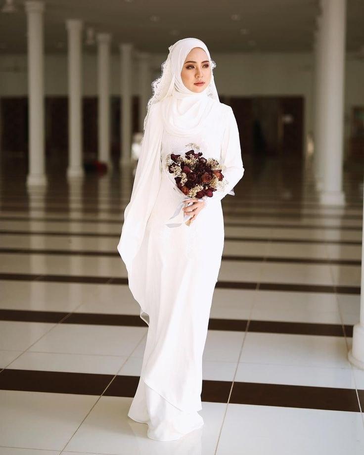 Design Gaun Pengantin Muslimah Terbaru 2019 Dwdk Pin by Safwani Wahab On Wedding Dreams In 2019