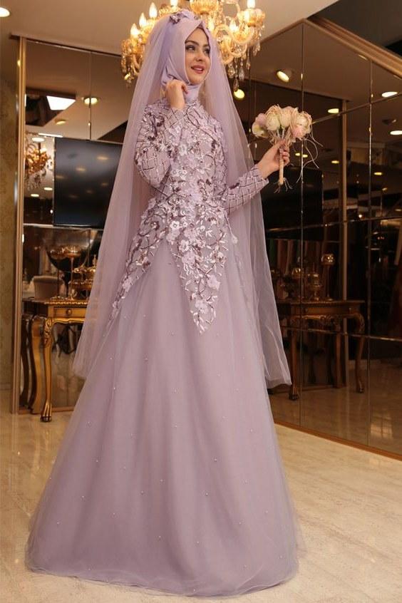 Design Gaun Pengantin Muslimah Termewah 3ldq 20 Model Baju Pengantin Muslimah Modern Terbaru