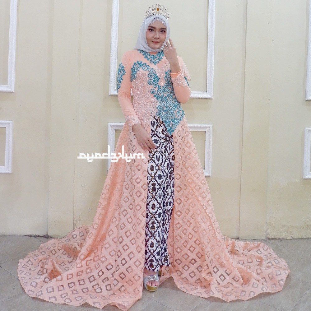 Design Gaun Pengantin Muslimah Termewah 8ydm Shopee Indonesia