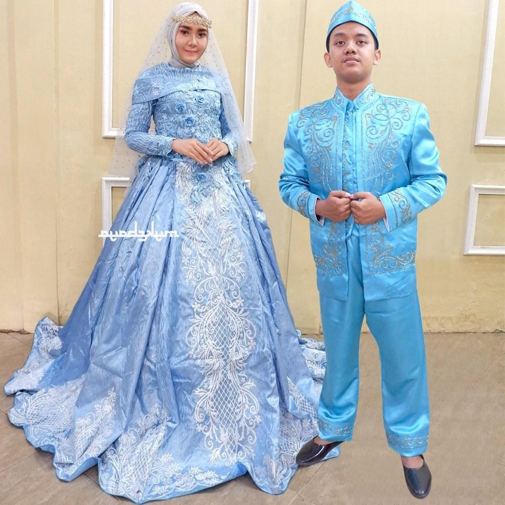 Design Gaun Pengantin Muslimah Termewah Fmdf Gaun Pengantin Modern Gaun Pengantin Muslim Hijab