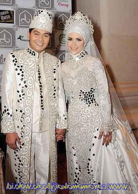 Design Gaun Pengantin Muslimah Termewah Nkde Baju Pengantin Muslimah Modern Terbaru 05