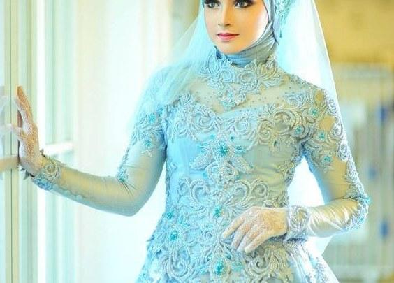 Design Gaun Pengantin Muslimah Termewah Nkde Kombinasi Kebaya Untuk Gaun Pengantin Hijab Modern Fashion