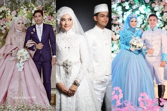 Design Gaun Pengantin Muslimah Termewah S5d8 10 Inspirasi Gaun Pengantin Muslimah Ber A Modern Bak