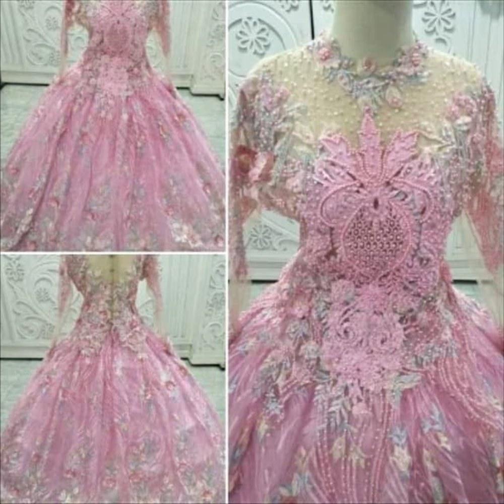 Design Gaun Pengantin Muslimah Termewah Xtd6 Gaun Pengantin Muslimah Baju Pengantin Modern Baju Pengantin