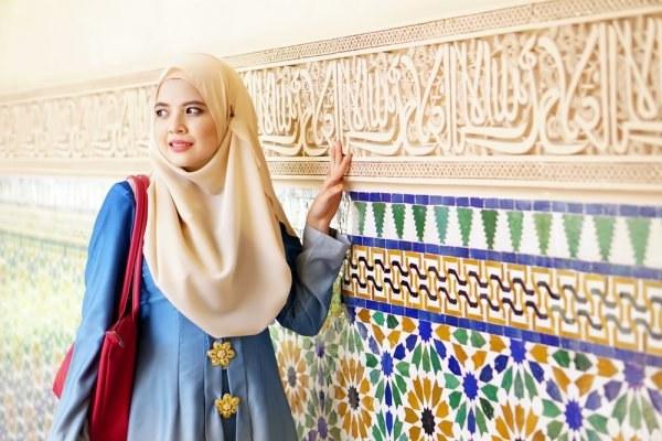 Design Gaun Pengantin Muslimah Untuk Tubuh Mungil S1du Tak Perlu Risau Bertubuh Pendek 8 Rekomendasi Baju Muslim