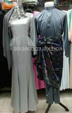 Design Gaun Pengantin Muslimah Warna Gold Gdd0 16 Best Gaun Pengantin Muslimah Malaysia Images