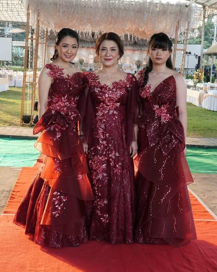 Design Gaun Pengantin Muslimah Warna Hijau D0dg Fashiondesignersolo S Images Pics
