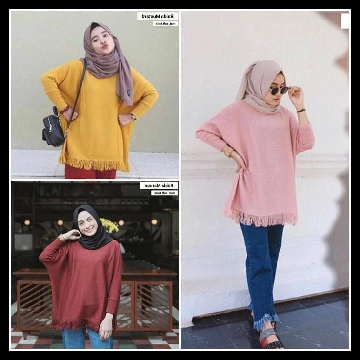 Design Gaun Pengantin Muslimah Warna Merah 0gdr Special Slim Raida Baju Wanita Baju Rajut Sweater Rajut Baju Korea