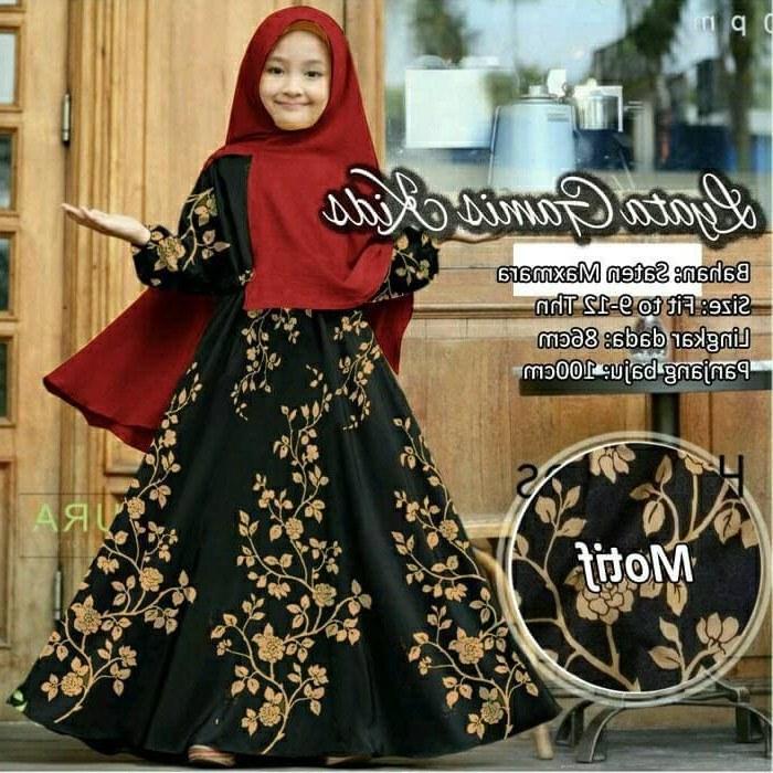 Design Gaun Pengantin Putih Muslim Q5df Jual Namira Fashoin New Baju Muslim Syari Gamis Anak Lya Od Saten Maxmara Dki Jakarta Mega Store99