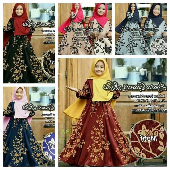Design Gaun Pengantin Putih Muslim Qwdq Jual Namira Fashoin New Baju Muslim Syari Gamis Anak Lya Od Saten Maxmara Dki Jakarta Mega Store99