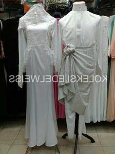 Design Gaun Pengantin Putih Muslim S5d8 16 Best Gaun Pengantin Muslimah Malaysia Images
