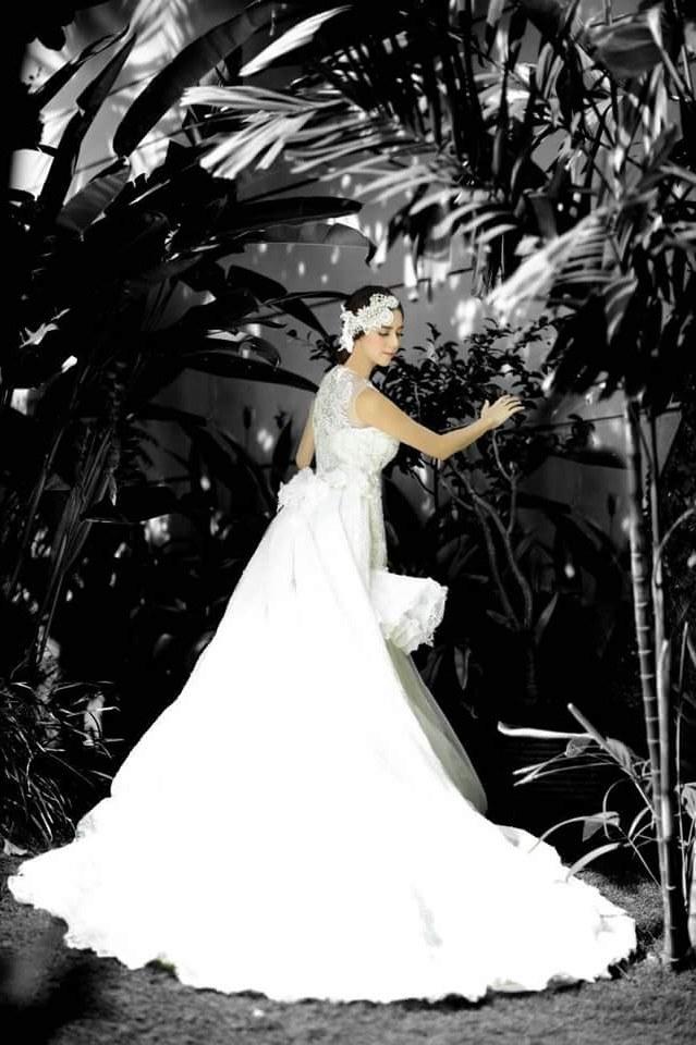 Design Model Baju Pernikahan Muslimah Mndw Eji atelier