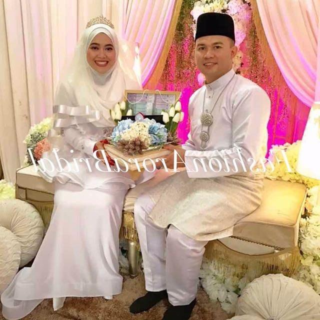 Design Sewa Baju Pengantin Muslimah Murah 87dx Sewa Set Baju Pengantin Women S Fashion Bridal Wear On