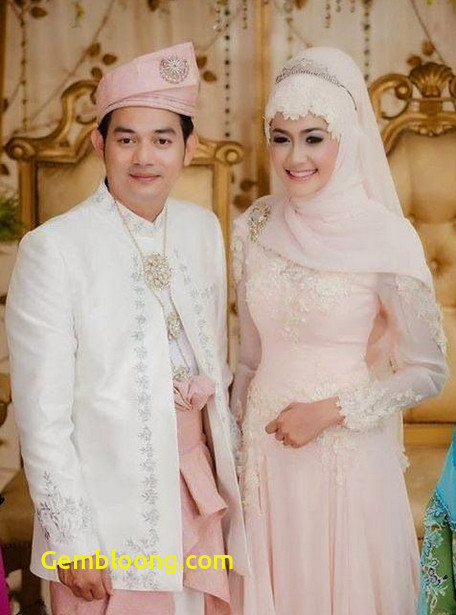 Gaun Pengantin Berhijab Beautiful Baju Pengantin islami Modern Nusagates