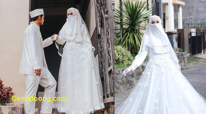 Gaun Pengantin Berhijab Fresh top Info Gaun Pengantin Niqab Baju Pengantin
