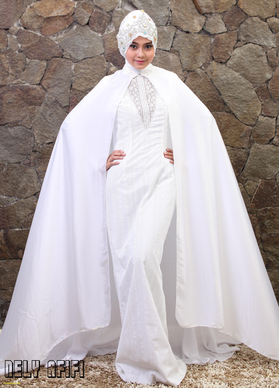 Gaun Pengantin Berhijab Luxury Foto Pengantin Berhijab Elegan Gaun Pengantin Muslim Warna