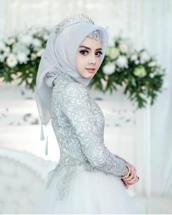 Gaun Pengantin Cantik Berhijab Best Of 54 Model Baju Kebaya Muslim Gaun Pengantin Muslimah