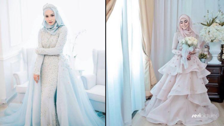 Gaun Pengantin Cantik Berhijab Elegant 15 Variasi Gaun Pengantin Internasional Hijab Yang sopan