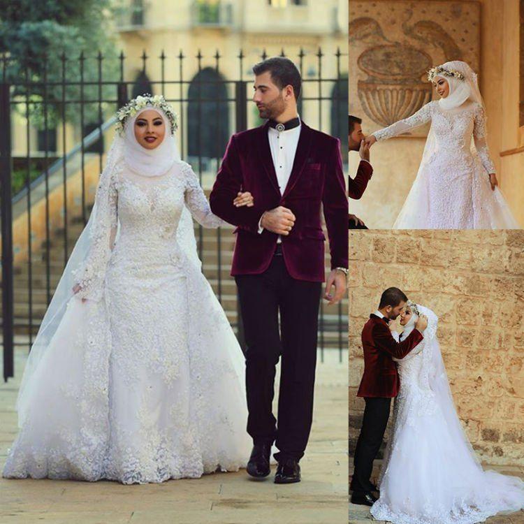 Gaun Pengantin Cantik Berhijab Inspirational 16 Inspirasi Gaun Pernikahan Putih Berhijab Tertutup Dan