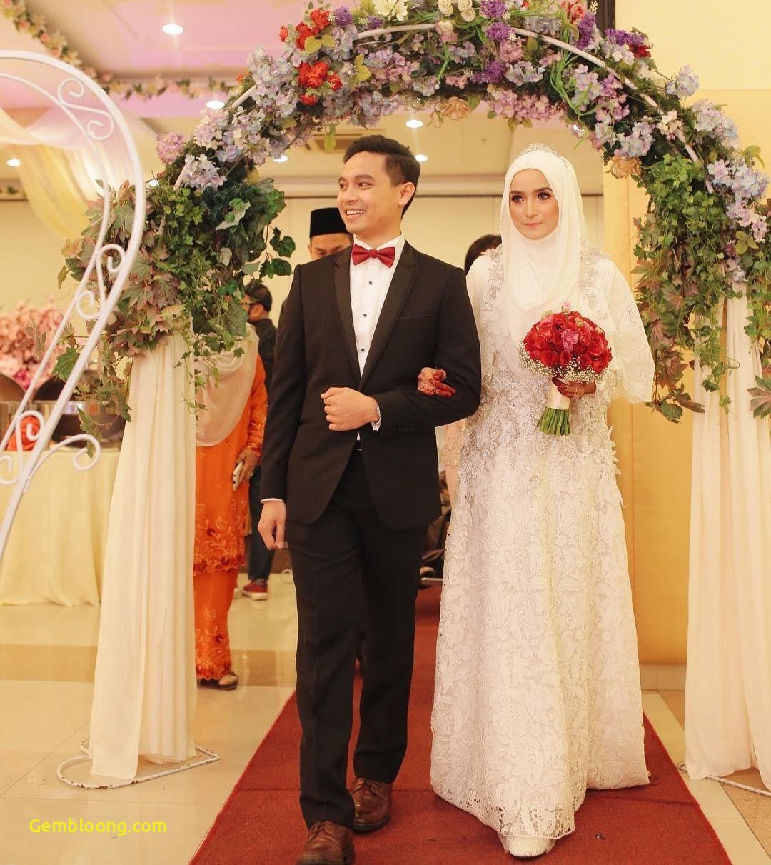 Gaun Pengantin Hijab Minimalis Beautiful 12 Desain Gaun