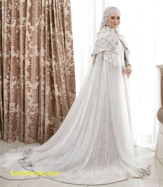 Gaun Pengantin Hijab Minimalis Best Of 15 Variasi Gaun Pengantin Internasional Hijab Yang sopan